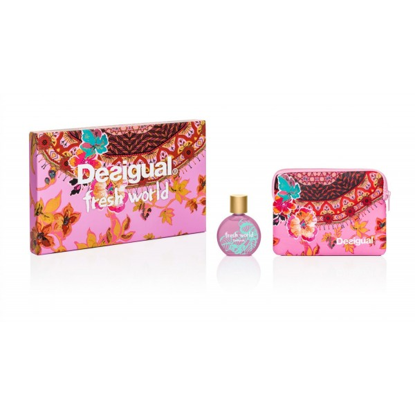 DESIGUAL FRESH WORLD WOMAN GIFT SET