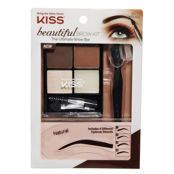 Kiss EverEz Beautiful Brow Kit