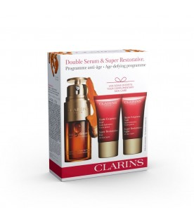 Clarins Double Serum and Super Restorative Value Pack