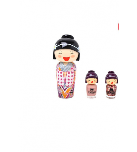 LOTUS NUDE NAIL POLISH V.A KOKESHI SET