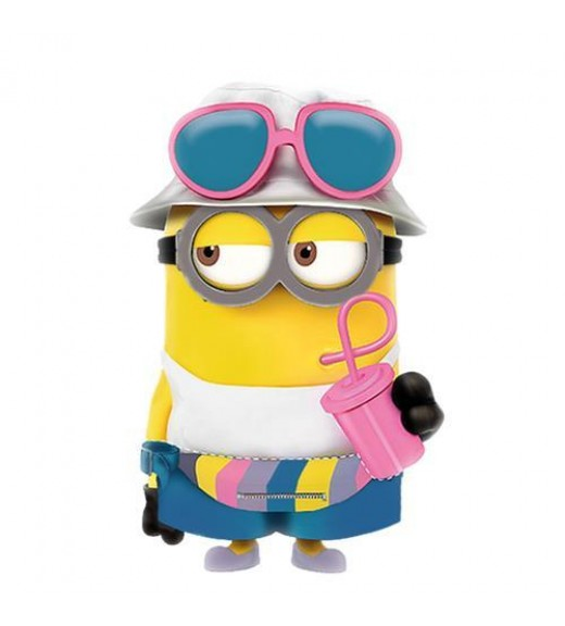 Despicable Me Beach Bath Foam Figurine 300 ML