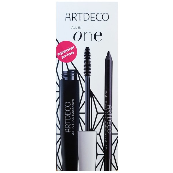 All in One Mascara & Soft Eye Liner waterproof Set