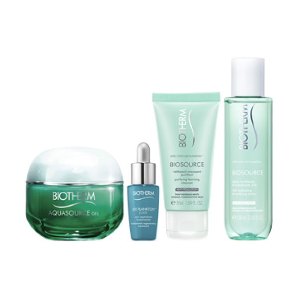 Aquasource For Normal To Combination Skin Gift Set