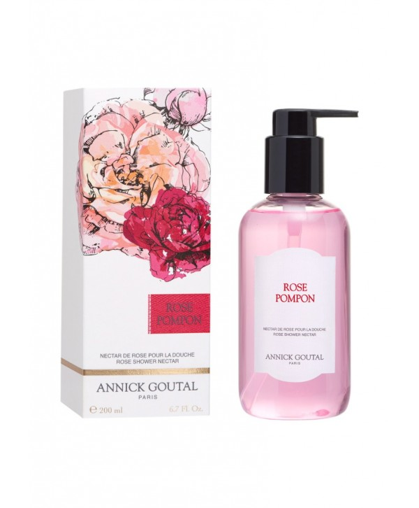 ROSE POMPON SHOWER OIL 200ML
